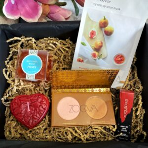 beauty box pamper gifts